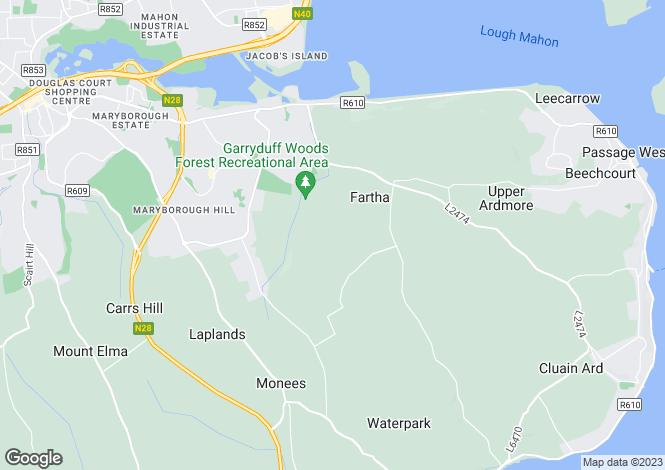Map for 3 Old Court, Cork Road, Bandon, Bandon, Cork