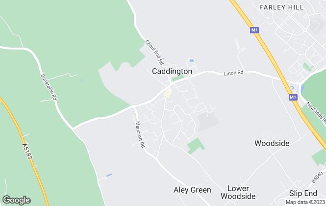 Map for Town & Country, Caddington