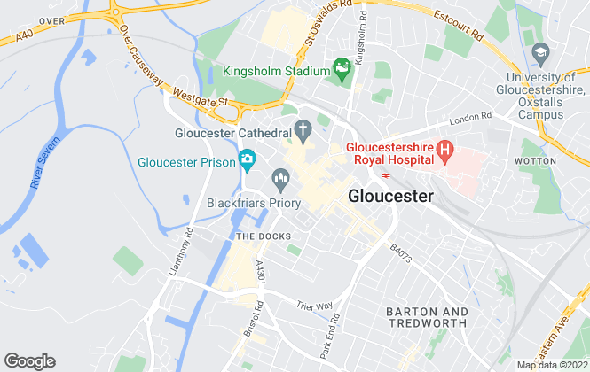 Map for Move Sales & Lettings, Gloucester