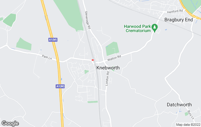 Map for Solutions for Property, Knebworth