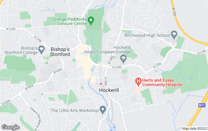 Map for Fox Sales & Lettings, Bishops Stortford