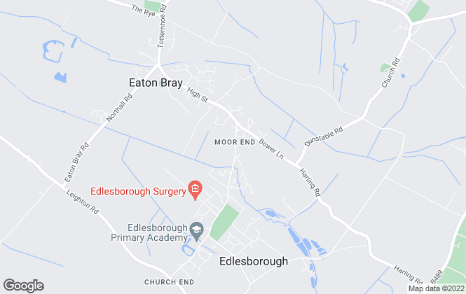 Map for Christopher Pallet, Edlesborough