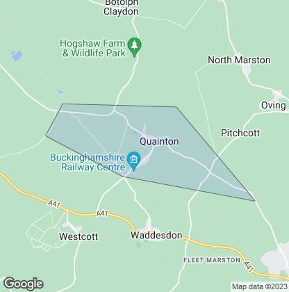 Map of property in Quainton