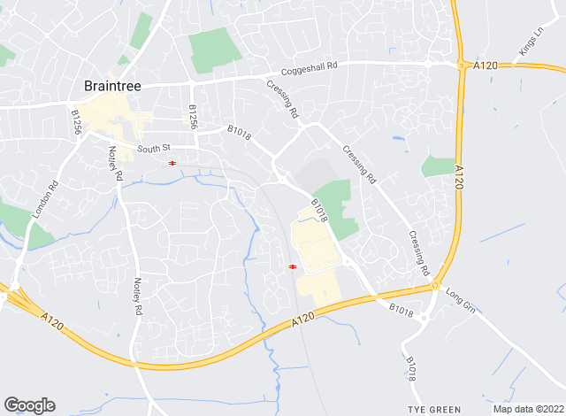 Map for cmRENT & SALES , Braintree & Witham
