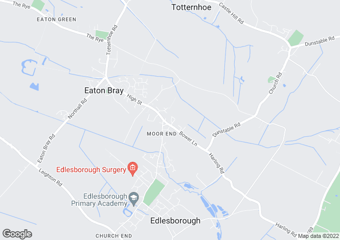 Map for Medley Close, Eaton Bray, Bedfordshire