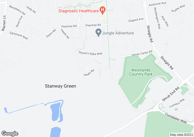 Map for Stanway Green