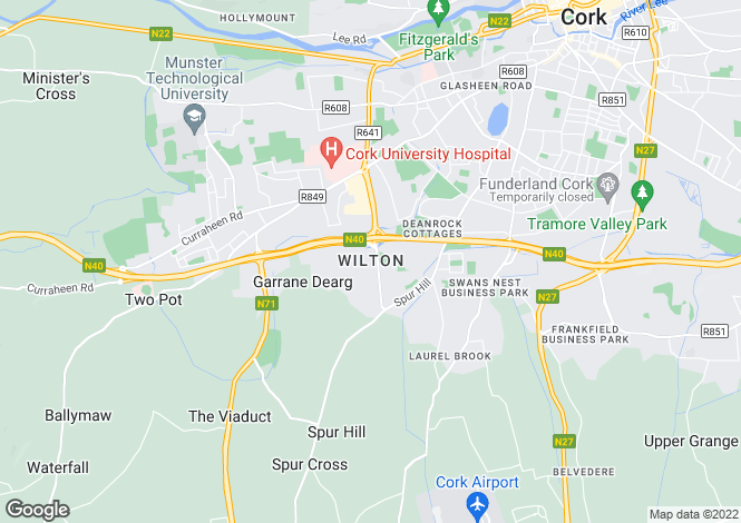 Map for Wilton, Cork