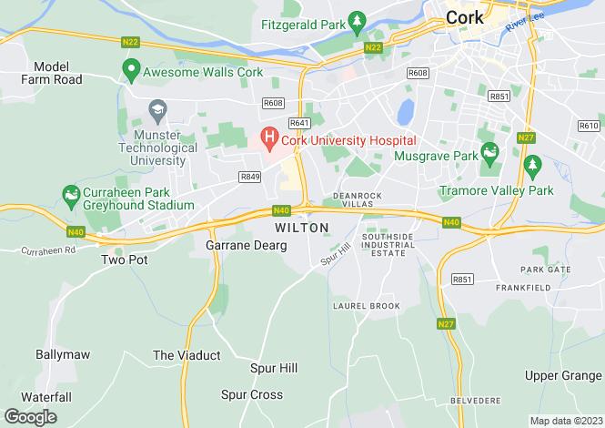 Map for 191 Eagle Valley, Sarsfield Road, Wilton, Cork, Wilton, Cork
