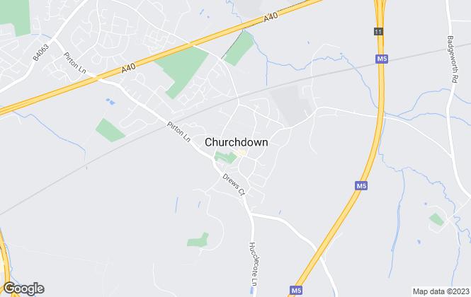 Map for Farr & Farr, Churchdown - Lettings