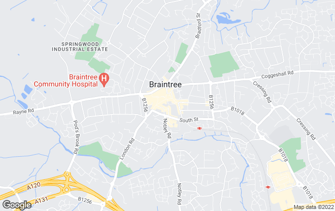 Map for Kings Property, Braintree