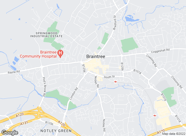 Map for Beresfords Lettings, at Braintree