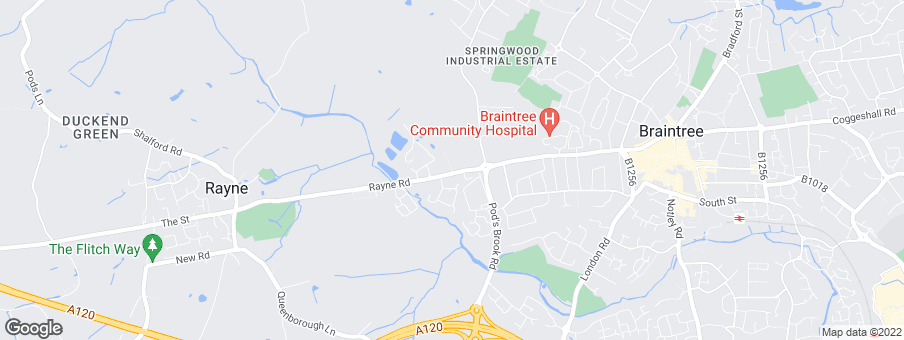 Map for Redrow Homes (Eastern)