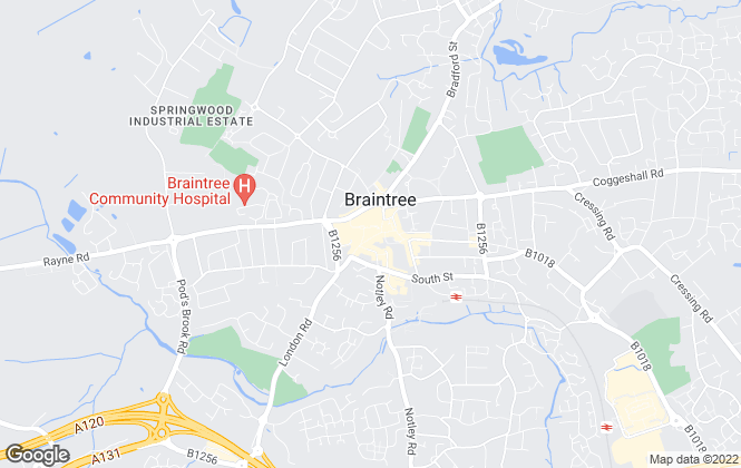 Map for Centurion Property, Braintree