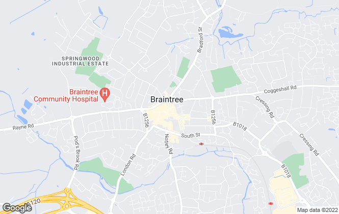 Map for Joscelyne Chase, Braintree