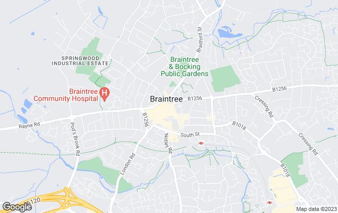 Map for Joscelyne Chase, Braintree