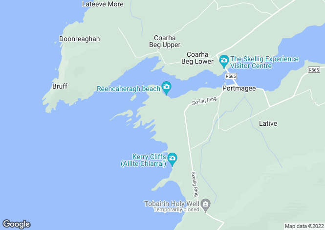 Map for Portmagee, Kerry