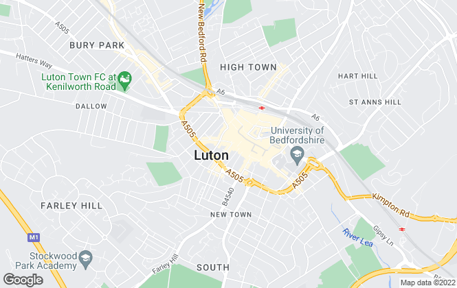 Map for Connells, Luton