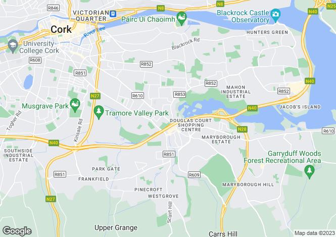 Map for Douglas Road, Cork
