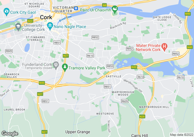 Map for Douglas, Cork