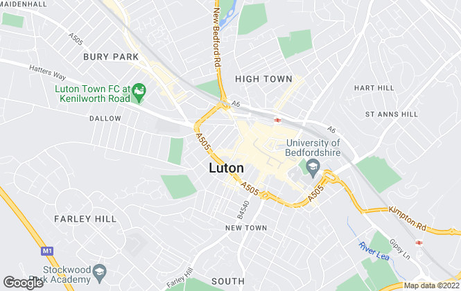 Map for DPS Group , Luton