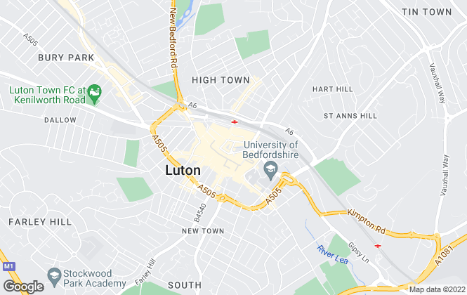 Map for Luton Heights Ltd, Luton
