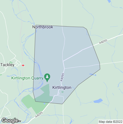 Map of property in Kirtlington