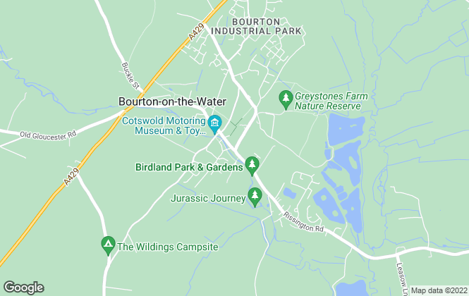 Map for R A Bennett & Partners , Bourton-on-the-Water