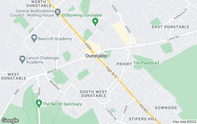 Map for Alexander & Co, Dunstable