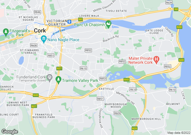 Map for Douglas, Cork