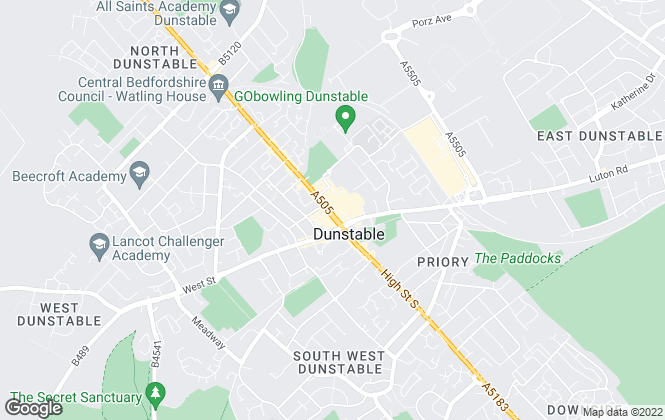 Map for YOUR MOVE - Jameson Owen, Dunstable