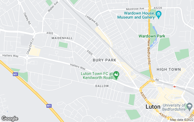 Map for Marigold Residentials, Luton
