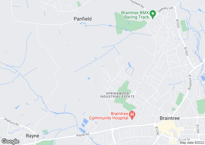 Map for Unit A4 Blackwell Drive, Springwood Industrial Estate, Braintree, CM7 2PU