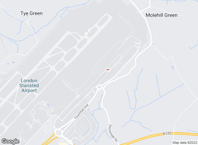 Map for Airport Lettings Stansted Ltd, Stansted