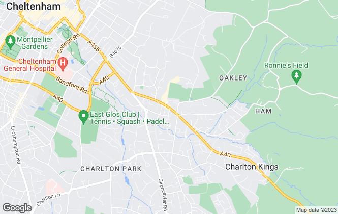 Map for Peter Ball & Co, Charlton Kings