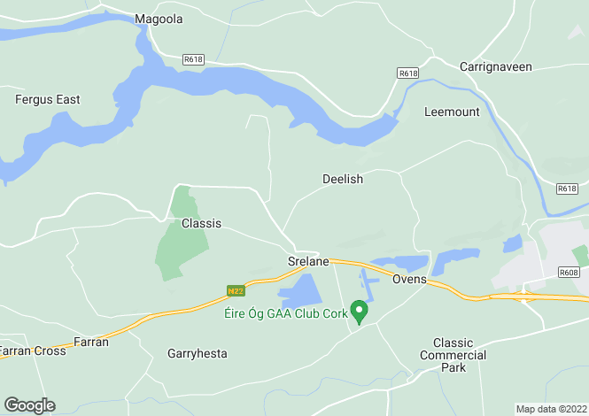 Map for Tigh Tuaithe, Castleinch, Ovens, Co Cork, P31 PN47