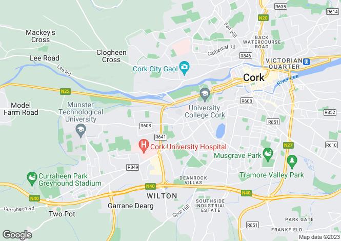 Map for Glennamucklagh, Newmarket, Cork