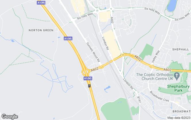 Map for Reids of London, Stevenage