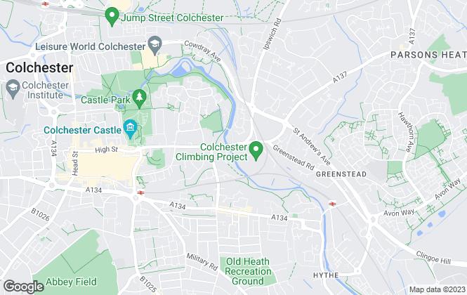 Map for Michael Clark Residential Ltd, Colchester