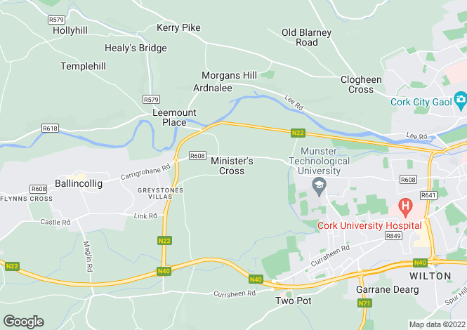 Map for Ministers Cross, Model Farm Road, Cork, T12 XWY6