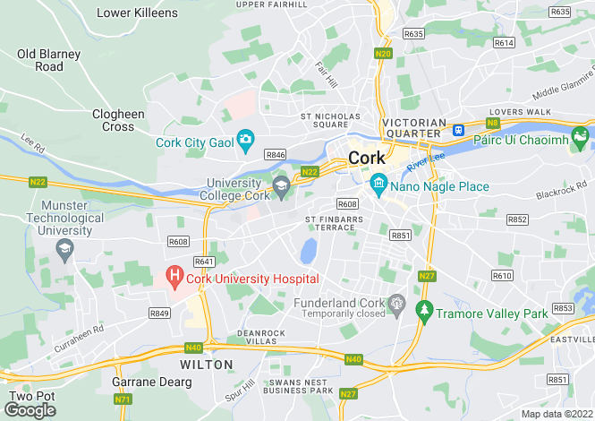 Map for 30 Wycherley Place, College Road, Cork City, Cork