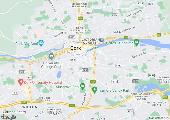 Map for 10 St Johns Mews, Douglas Street, Cork City Centre, Cork, T12 DAC9