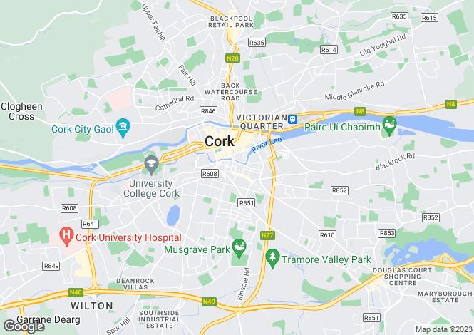 Map for 5 Margaret Street, Cork