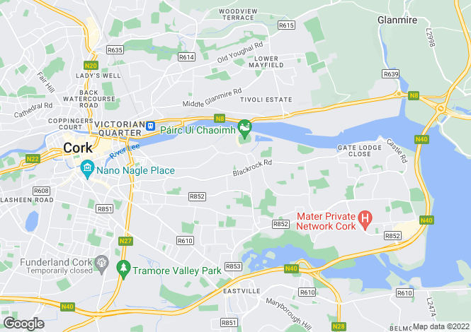 Map for Cork, Cork