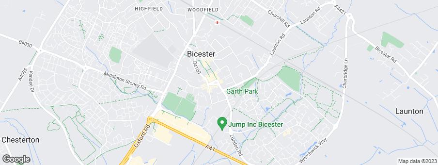 Map for Bovis Homes West Midlands