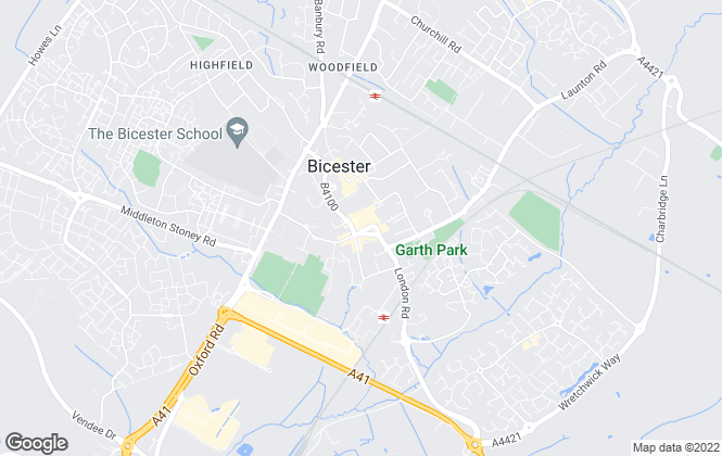 Map for Taylors Lettings, Bicester