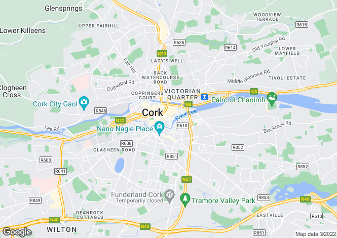 Map for Cork, Cork