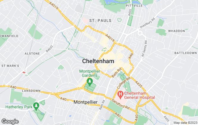 Map for Winkworth, Cheltenham