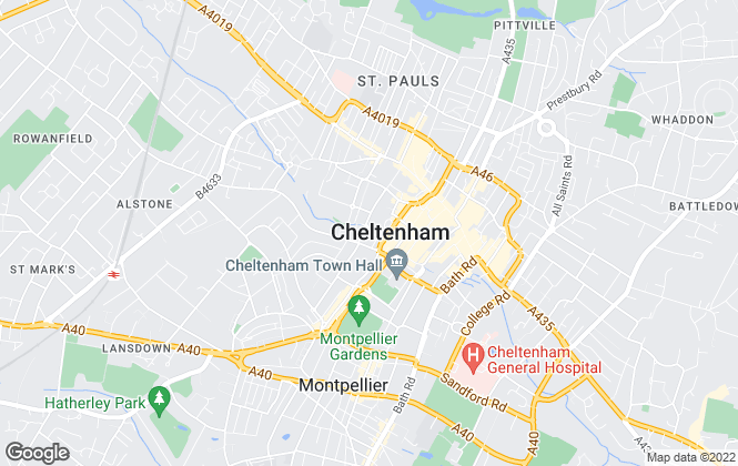 Map for EweMove, Bishops Cleeve