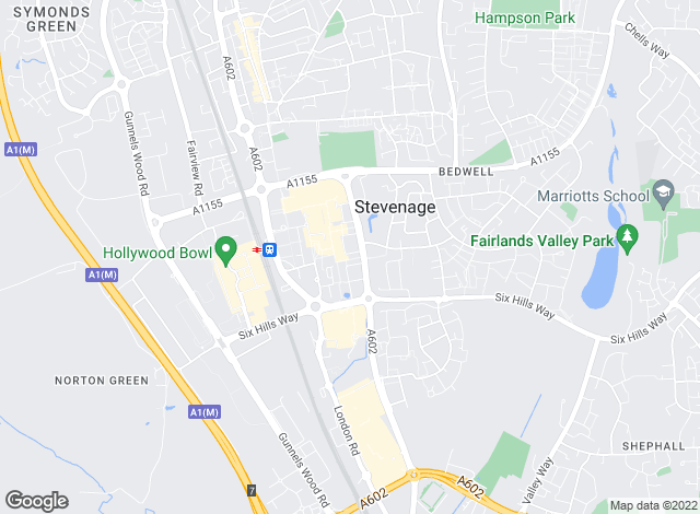 Map for Wrights Estate Agents , Stevenage - Lettings