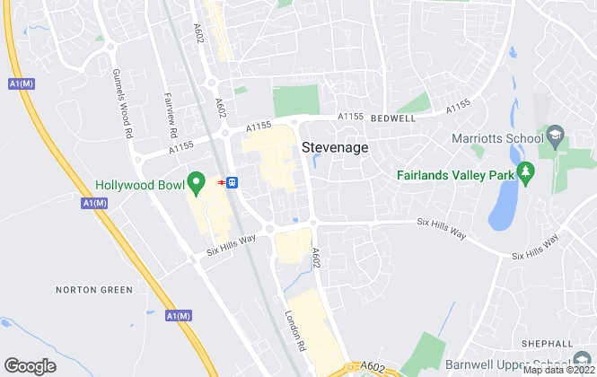 Map for Wrights Estate Agents, Stevenage - Lettings